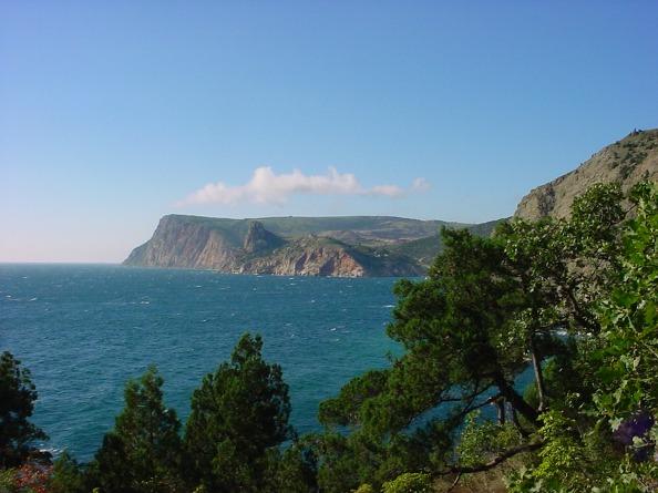 Sevastopol at Crimea at the Black Sea
