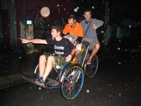 Tourist & the Cyclo