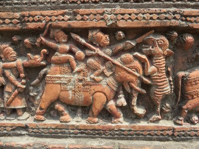 Terra Cotta work on Govinda Temple