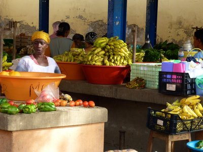 A Market in Cape Verde