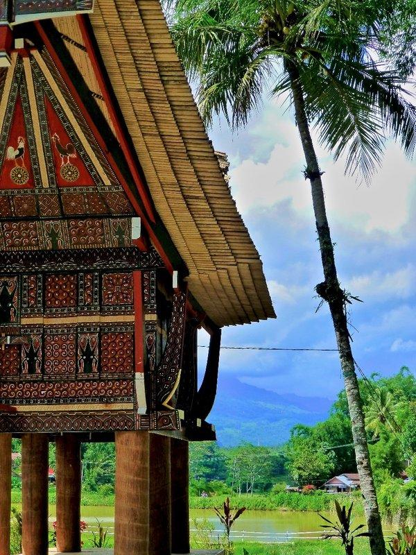 A grain store? Near Pare Pare, Indonesia