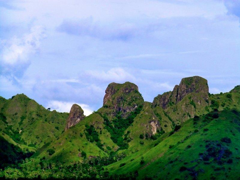 The beautiful Komodo Island of Indonesia