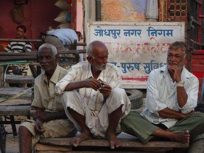 Dans le bazar de Jodhpur