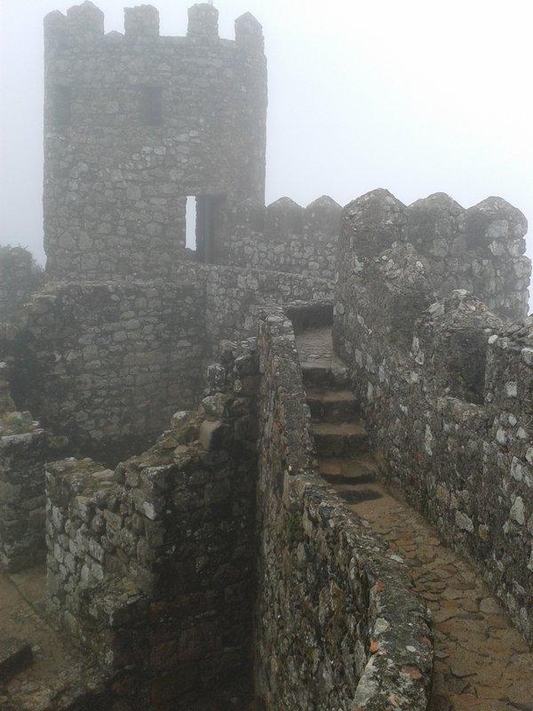 Brume au château des Maures