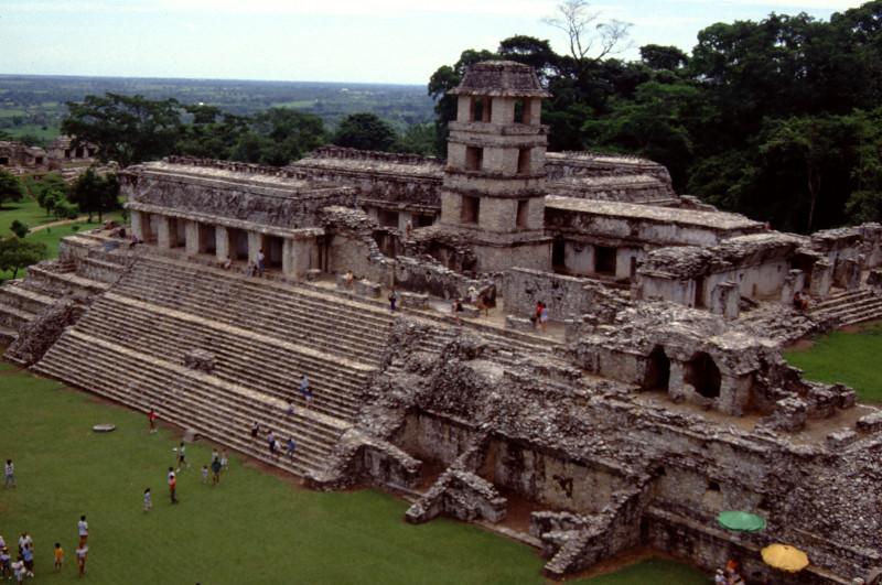 Le palais de Palenque