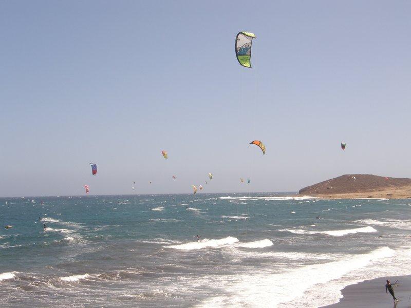 Bon vent sur Tenerife