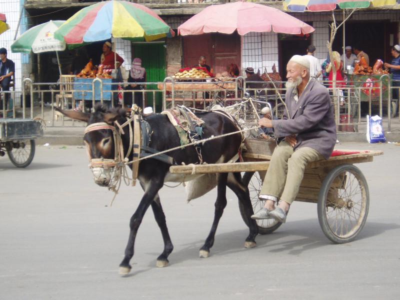 Jour de marché à Hotan