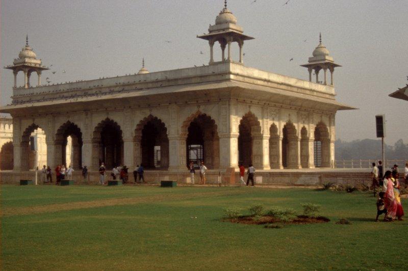 Palais de Rang Mahal dans le Fort Rouge