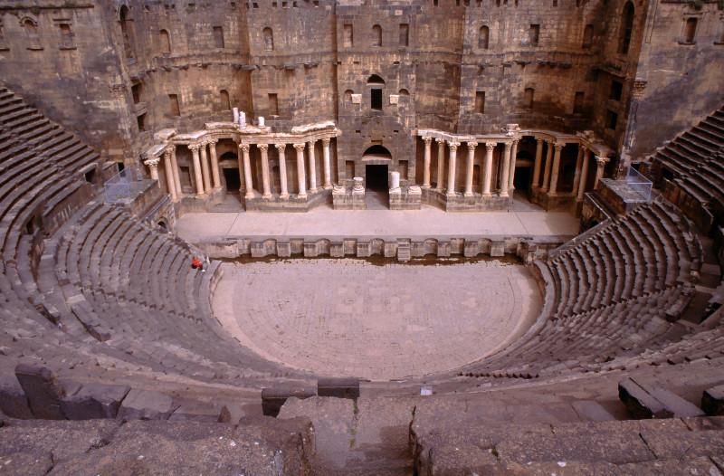 Le théâtre de Bosra