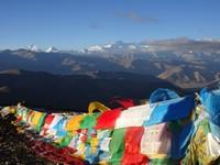 Vue matinale sur l'Himalaya