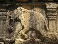 Eléphant sculpté