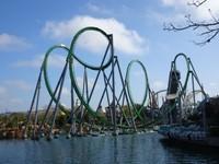 Incredible Hulk coaster