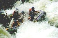 Raft sur le Zambèze
