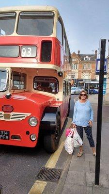 Vintage bus ride