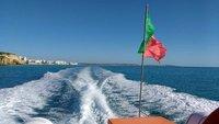 Blue skies boat trip