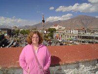 On top of the Jokhang