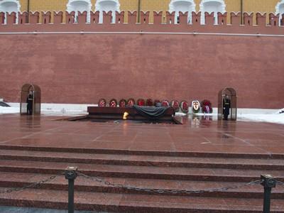 Eternal flame memorial Kremlin.