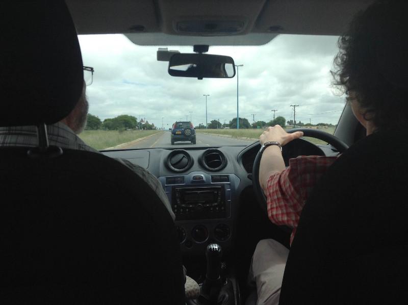 Trip to Molepolole