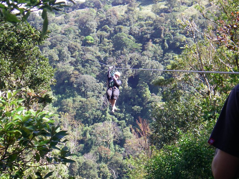 Ziplining, Monteverde, Costa Rica