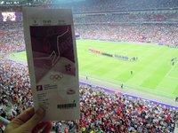 Olympic Womens Soccer Final, Wembley Stadium, London, UK