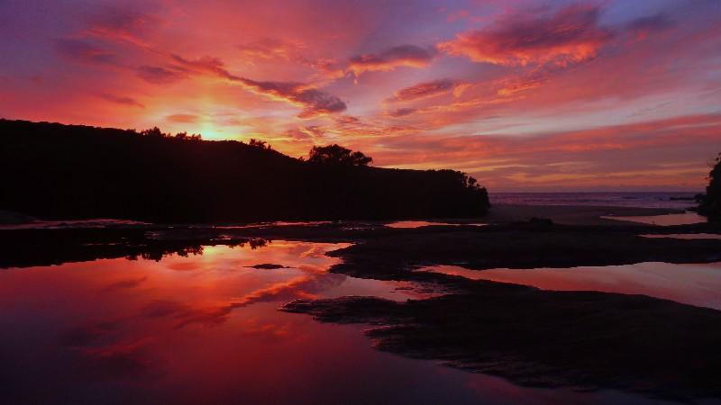 UDU Sunrise at the Royal National Park