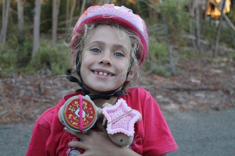 My Dukkies helmets for safe bikeriding....