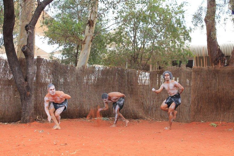 More of the Aboriginal Dancing