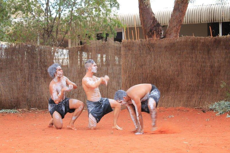 Traditional Aboriginal dance