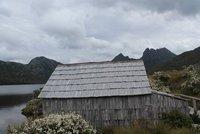 Boat shed at Dove Lake