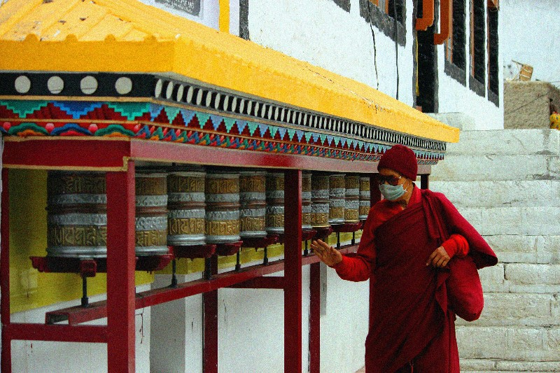 Prayer at a Monastery