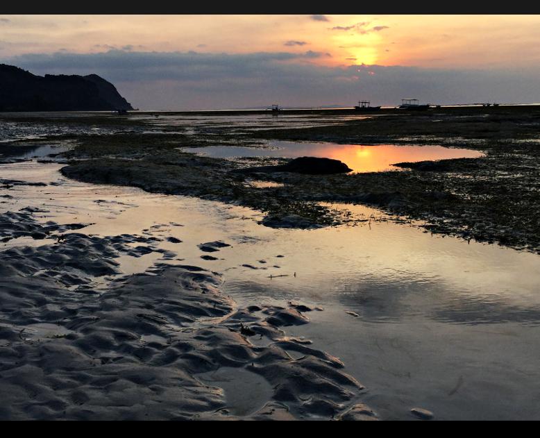 Scar Reef Sunset