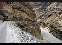 Spiti River Road