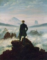 The wanderer above a sea of fog