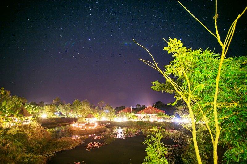 night view of Memoria