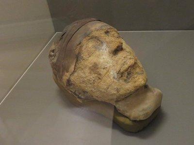 Djehutynakht's Head. Creepy.