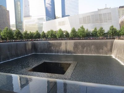 One of the Reflecting Pools at Ground Zero