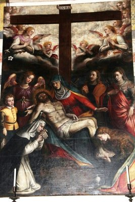 Monastery of Santa Maria dela Grazzie Painting