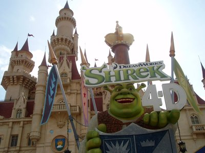 Shrek 4D at The Universal Studio Singapore