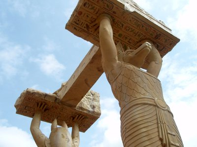 Ancient Egypt at The Universal Studio Singapore