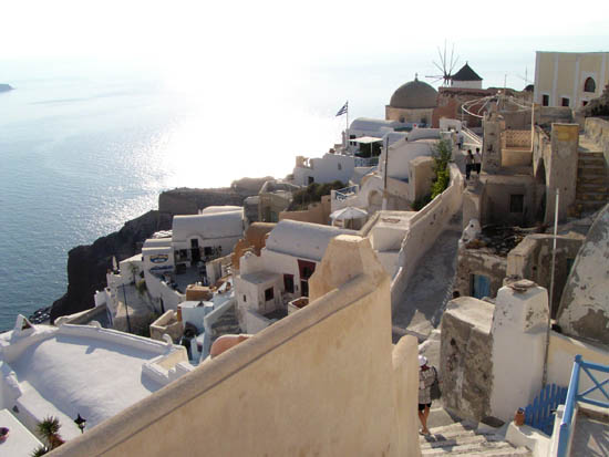 Almost sunset Fira