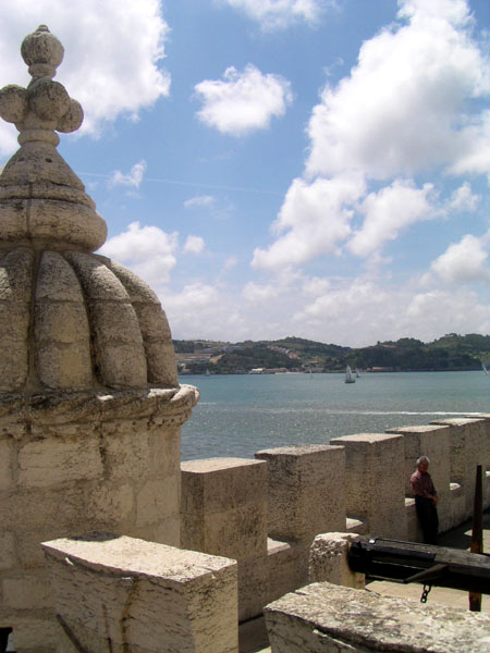 In the Tower of Belem