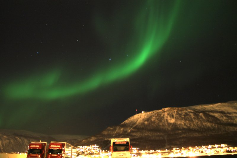 The first night I saw the Northern Lights