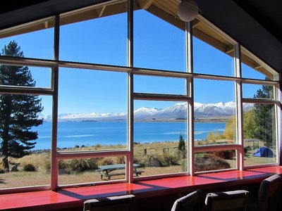 Morning view across Lake Tekapo