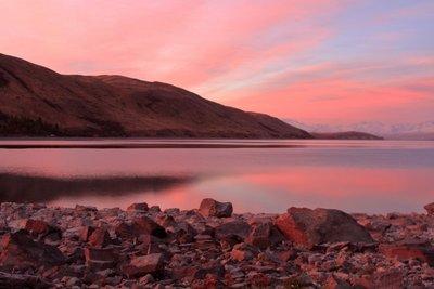 Lake Tekapo sunset, New Zealand