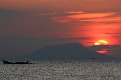 Another glorious sunset in Kep