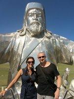 Chenggis Khan Statue
