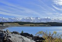 Lake Alexandria, New Zealand