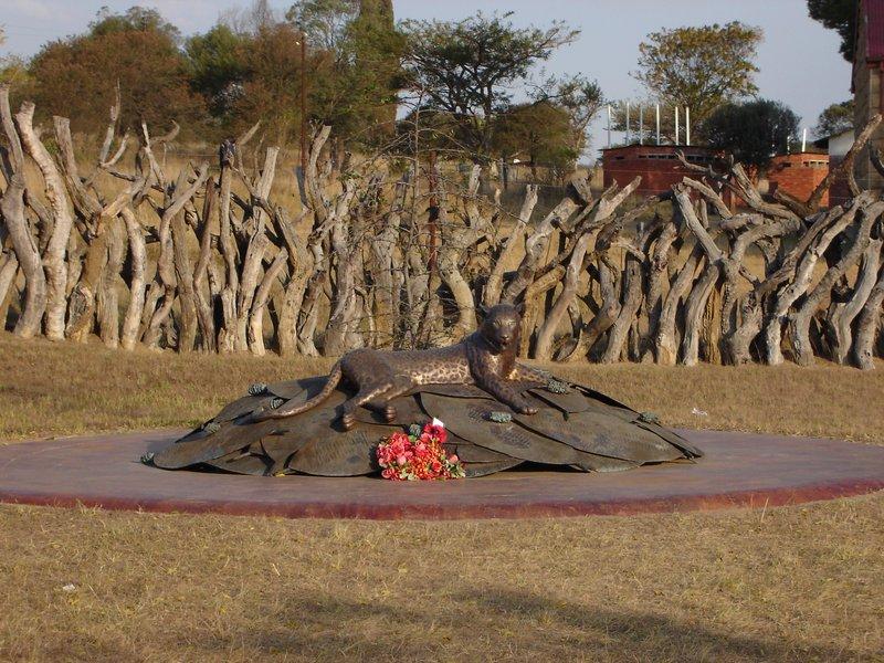 Rorkes Drift Zulu Monument