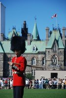An Officer in the Changing of the Guard
