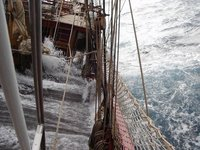 Water on the Main Deck